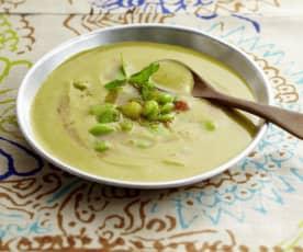 Creamy Moroccan bean soup