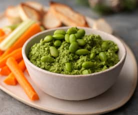 Edamame and Spinach Dip