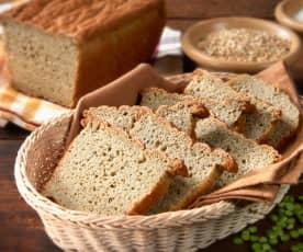 Pan de soja verde, maíz y garbanzos (sin gluten)