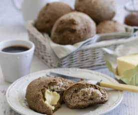 Gluten and grain free bread rolls