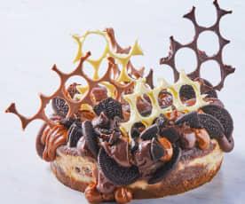 Cheesecake trufado