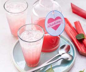 Rhabarber-Minz-Limonade