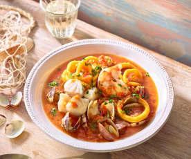 Andalusische Fischsuppe