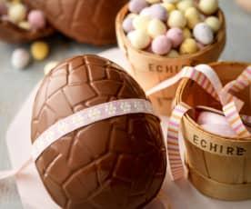 Uova di cioccolato pasquali
