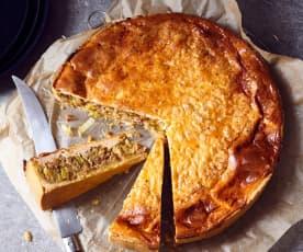 Hackfleisch-Käse-Quiche