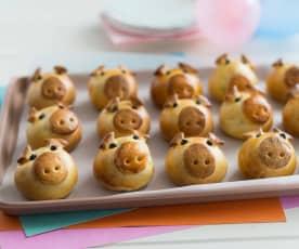 Little piggy faces