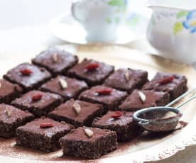 Almond and date bars