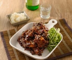 韓式烤炸雞