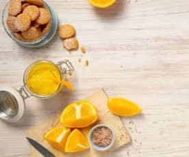 Orangenpaste