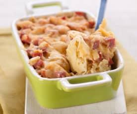 Kartoffel-Sauerkraut-Auflauf