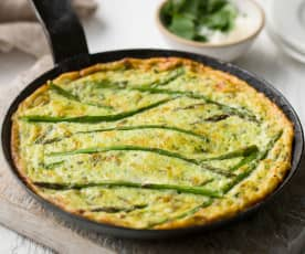 Green Vegetable Frittata - Frittata verde