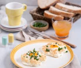 Jajka na chmurce (Cloud eggs)