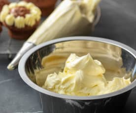 Glaseado de crema de mantequilla