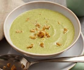 Brokkoli-Gorgonzola-Suppe