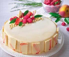 巴伐利亞白巧克力蛋糕