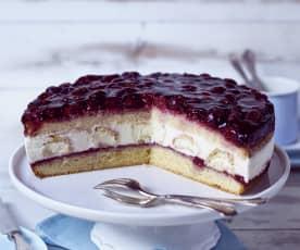 Kirsch-Windbeutel-Torte