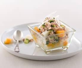 南瓜馬鈴薯鮪魚沙拉