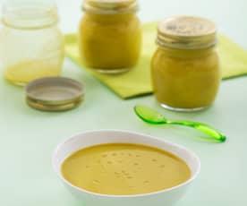 Crema de verduras tradicional (sin sofrito)