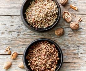 Nueces picadas gruesas (300 g)