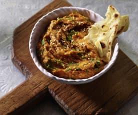 Auberginen-Curry-Dip (Bangladesh)