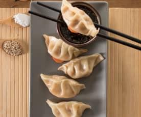 Dumplings de camarones (Xia jiao)