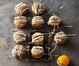 Mohn-Zitronen-Kekse