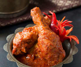Ayam masak merah (spicy tomato chicken)