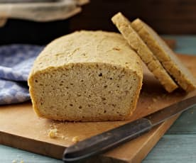 Mais-Buchweizen-Brot