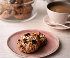 Oat and Raisin Lactation Cookies