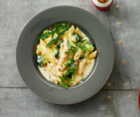 Brokkoli-Gorgonzola-Pasta