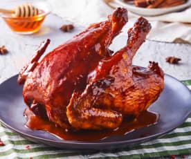 Pollo sentado