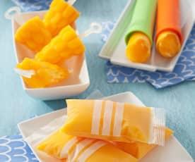 Mango Ice Lollies