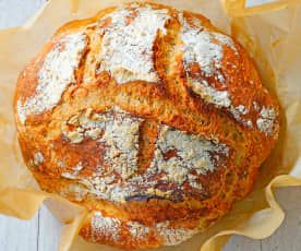 Simple Mixing Bread