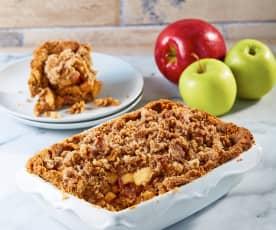 Apple crumble vegano