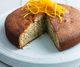 Poppy Seed and Orange Cake