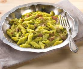 Pasta risottata con cavolo broccolo e zafferano