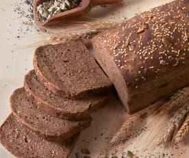 Pane ai cereali con i semi