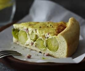 Rosenkohl-Hefe-Kuchen