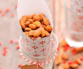 Słodkie migdały w karmelu