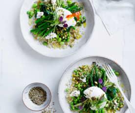 Green quinoa breakfast bowl (Post-natal)