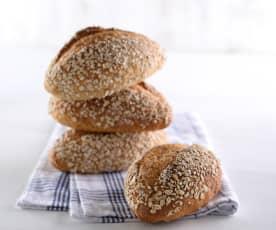 燕麥多穀麵包