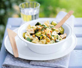Salade de pâtes aux courgettes