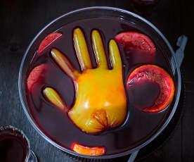 Orangenbowle mit eiskaltem Händchen