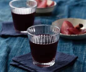 Pear mulled wine