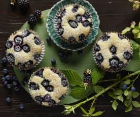Heidelbeer-Brombeer Muffins