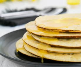 Semolina pancakes (Beghrir)