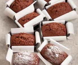 Plumcake quattro quarti al cioccolato