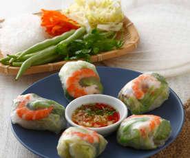 越式鮮蝦卷