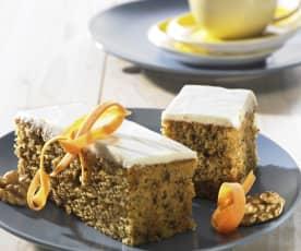 Möhrenkuchen, schwedisch