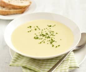 Kohlrabi-Kartoffel-Cremesuppe